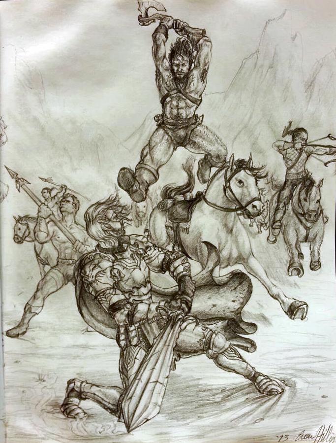 Barbarian Raid