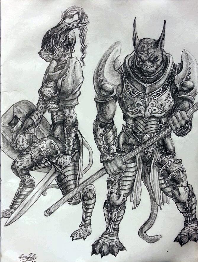 Cat Warrior Concept