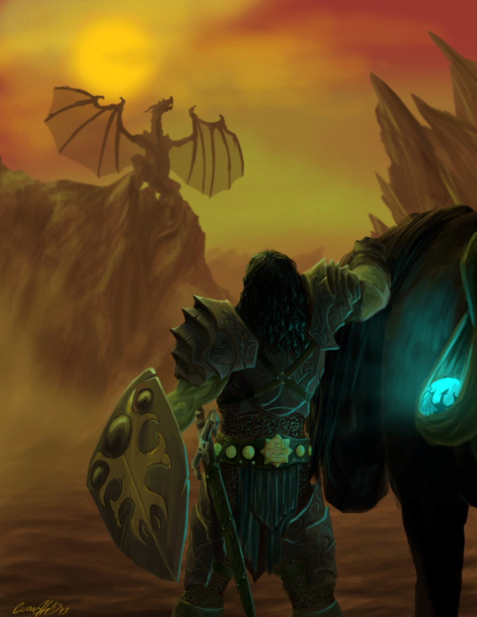 Dragon Slayer vibrant