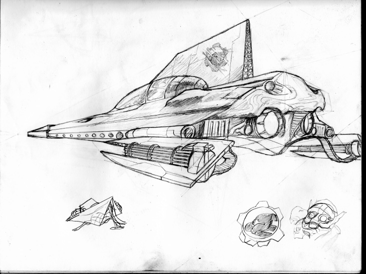 Modified Jedi Fighter Concept